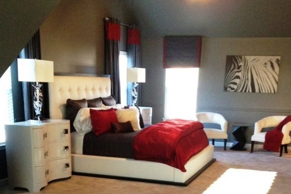 Red And White Bedroom Ideas Layjao