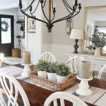 Stunning Rustic Farmhouse Dining Room Decor Ideas 28