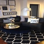 Stylish Design Black White And Gold Living Room Ideas Gold Living