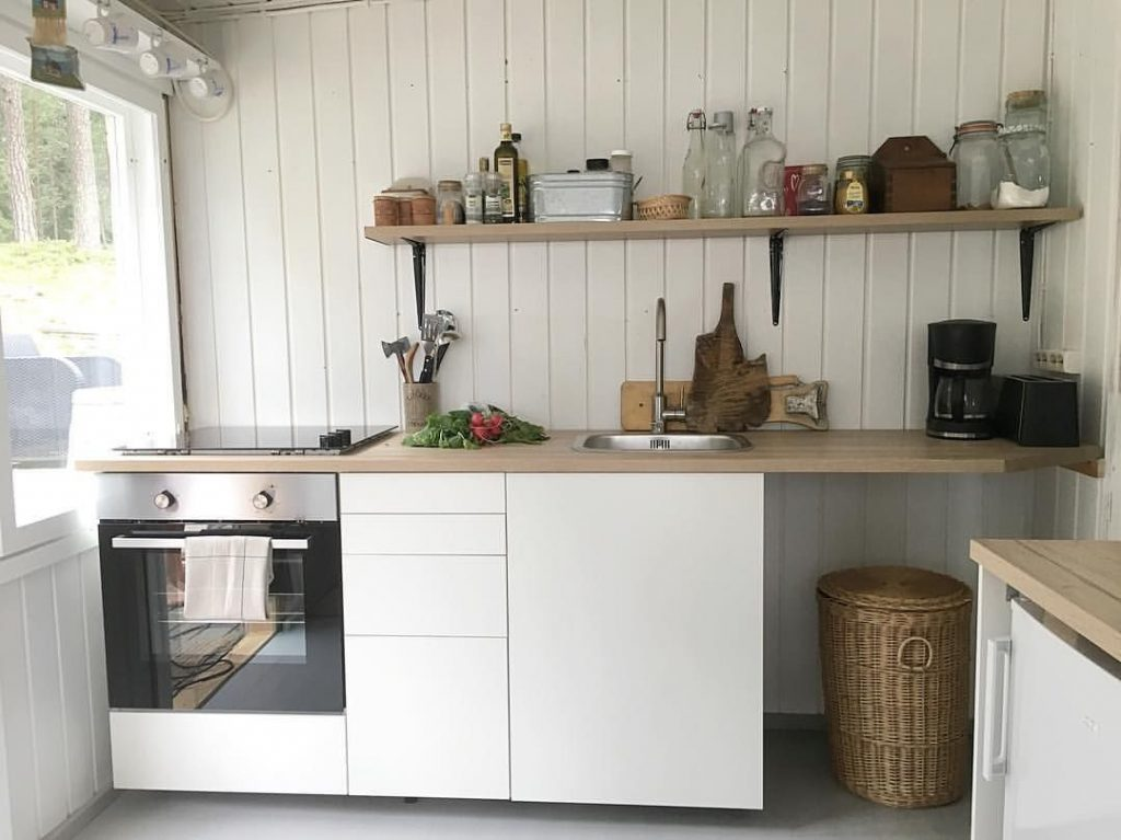 Summer House Kitchen Kk I Sommarstugan Mkki Keitti Stuga