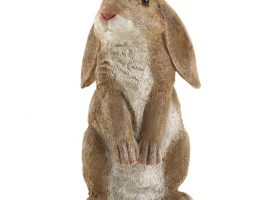 Easter Rabbit Statue Outdoor Garden Decor Sculpture