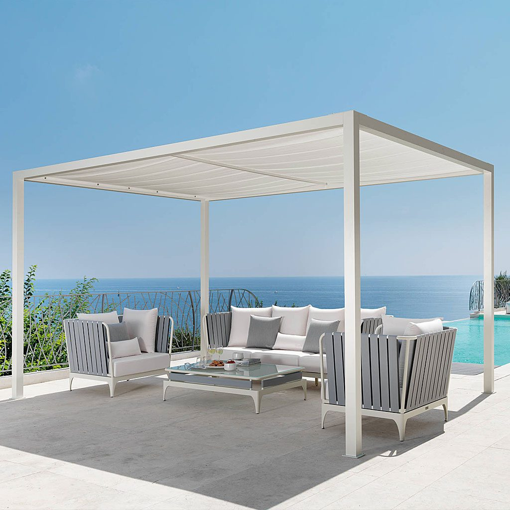 Talenti Upperalu Modern Pergola Modern Garden Furniture London