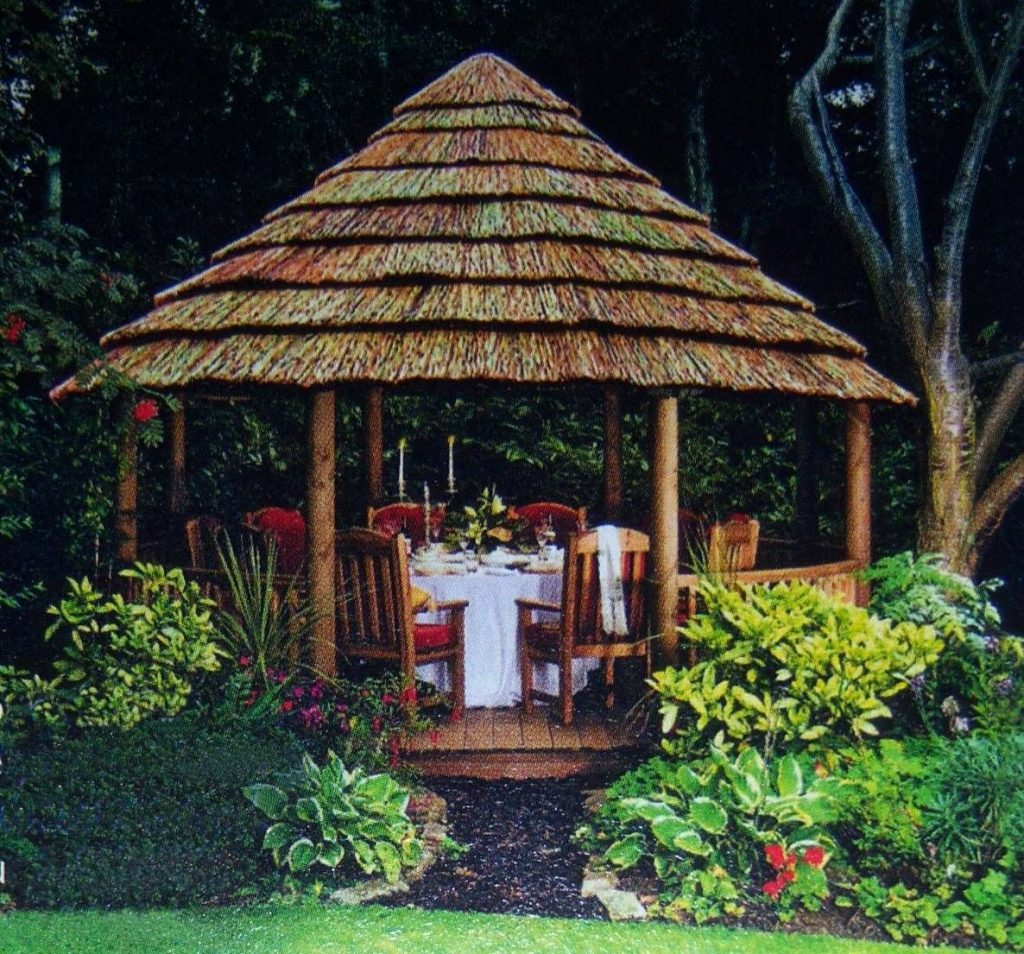 Thatched Gazebo For The Home Pinterest House Gazebo And