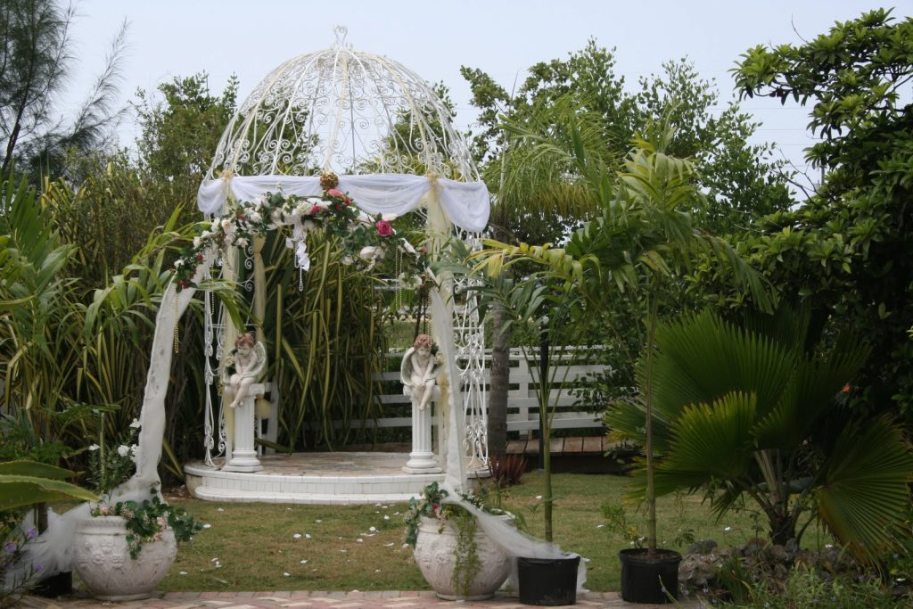 The Joy Of Weddings Imagine Your Cayman Garden Wedding Here