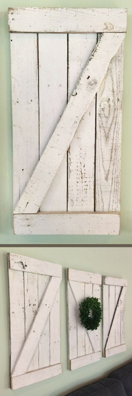 These Are Fantastic Rustic Barn Door Wood Wall Hanging Wooden