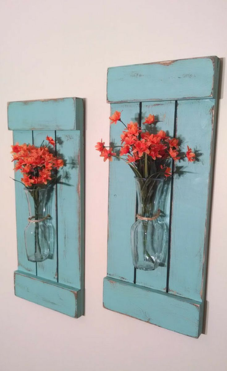 These Would Be Perfect In My Bedroom Large Rustic Sconces Shutters