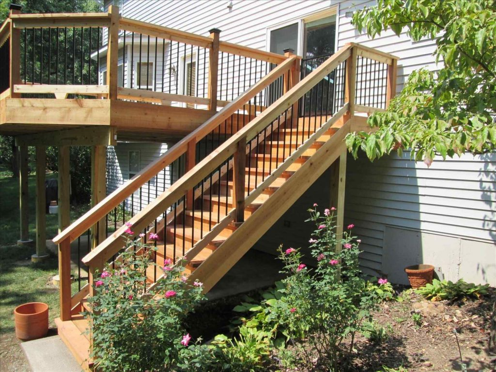 Top 20 Fabulous Stair Outside Design Ideas For Inspiration