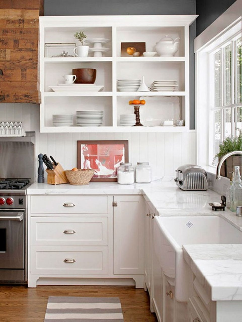 Top 25 Open Upper Kitchen Cabinets Design Ideas For Inspiration