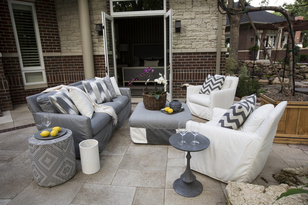 Upholstered Outdoor Furniture R Cartwright Design Des Moines