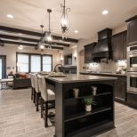 Warm Colors For Kitchen Walls Benjamin Moore Dark Walnut Stained