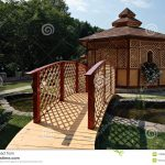 Bridge & Garden Gazebo