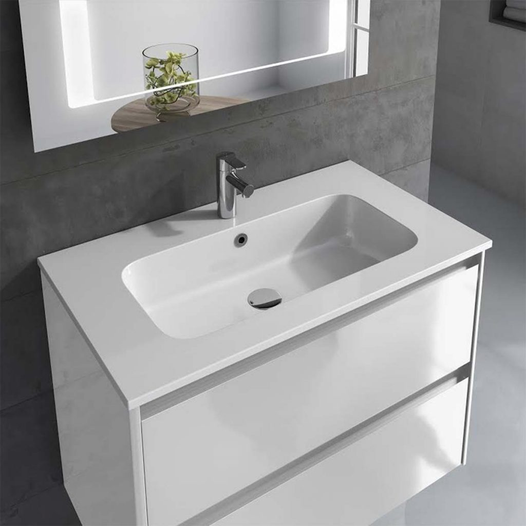 Ws Bath Collections Ambra 60 Pack 2 Wall Mounted Bathroom Vanity