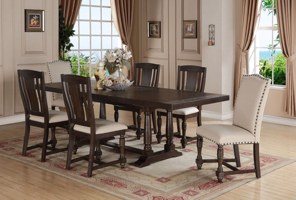 Xcalibur Trestle Table Dx14296 Dining Tables From Winners Only