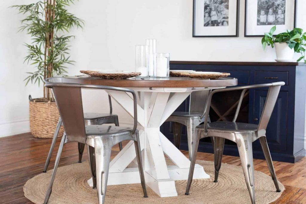 Yorkshire Round Table Hand Made Kitchen Table From Kansas City