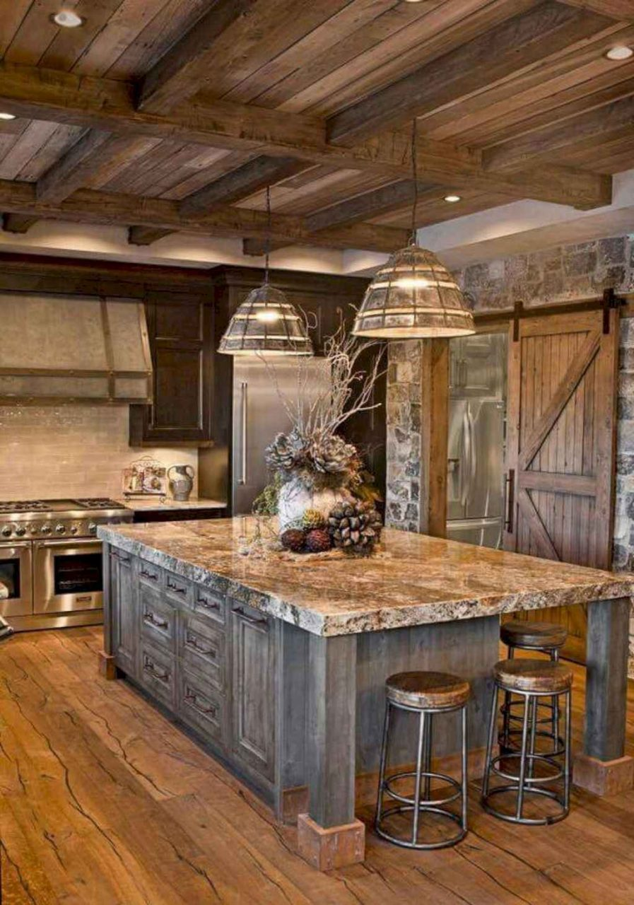 08 Best Rustic Farmhouse Kitchen Cabinets Ideas Homeylife
