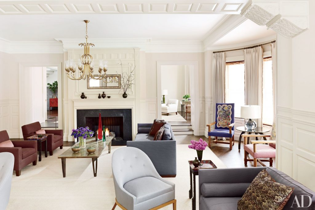 10 Contemporary Interiors Thad Hayes Inc Architectural Digest