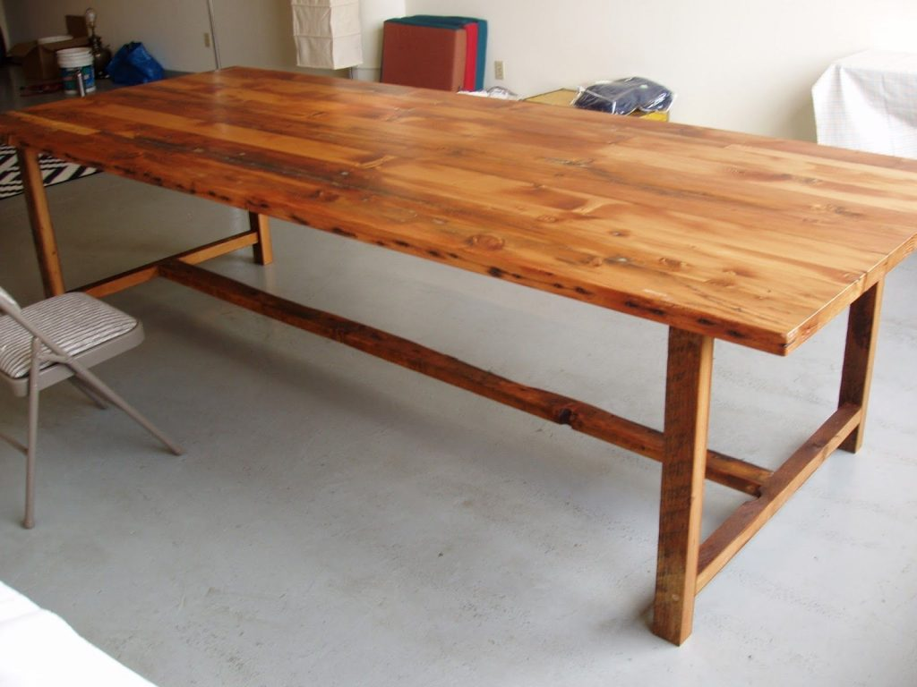 10 Foot Long 48 Inch Wide Wood Dining Table Custom Wood
