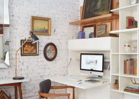 Small Home Office Living Room