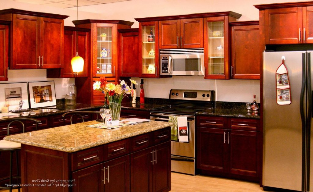 11 Lovely Cherry Wood Kitchen Cabinets With Black Granite Youll