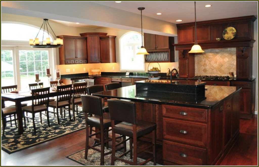 11 Why Choosing Cherry Wood Kitchen Cabinets With Black Granite