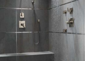 Slate Bathroom Shower Tile