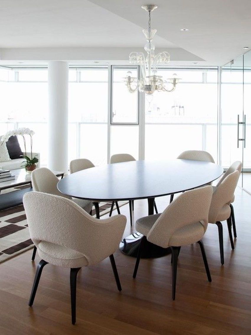 15 Astounding Oval Dining Tables For Your Modern Dining Room 215