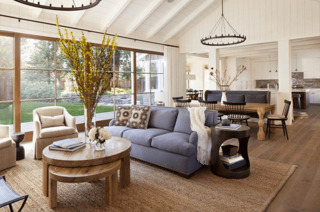 15 Farmhouse Style Living Room Tips
