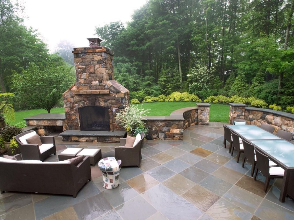 20 Cozy Outdoor Fireplaces Home Ideas Patio Design Patio Outdoor