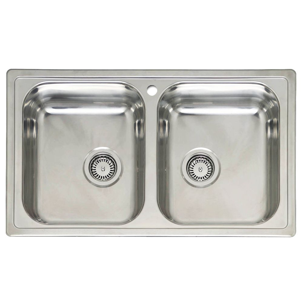 20 Double Bowl Kitchen Sinks Sinks Taps