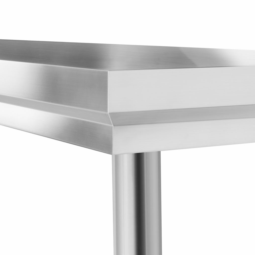 201 Stainless Steel Bench Table Commercial Home Kitchen Work Food