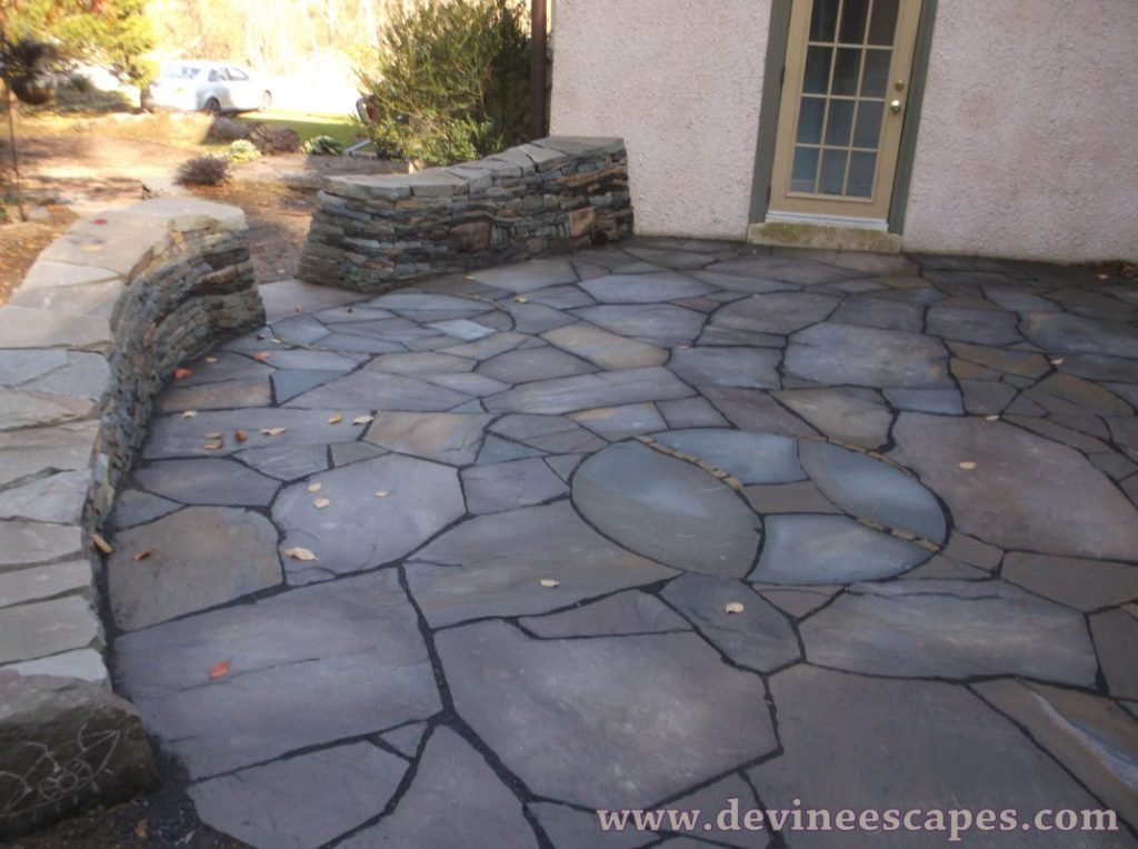21 Eye Catching Flagstone Patio Design Ideas