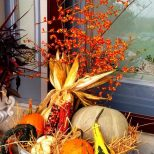 22 Beautiful Fall Planters For Easy Outdoor Fall Decorations Fall