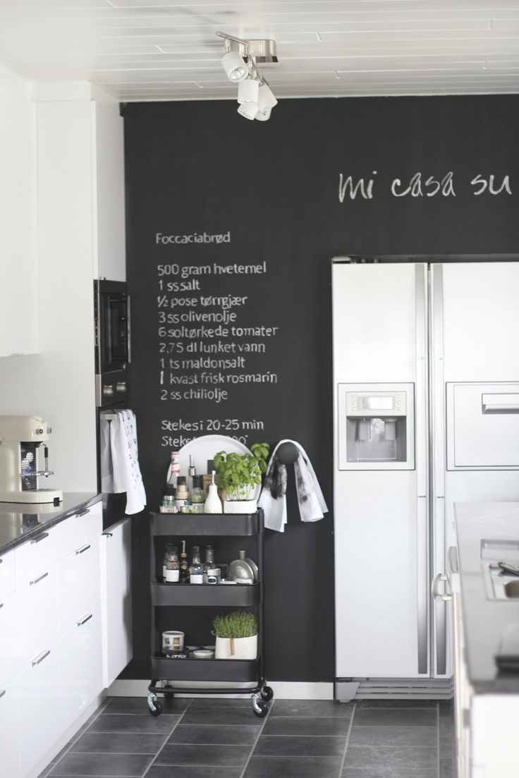 25 Black And White Kitchens House Ideas Pinterest Kitchen
