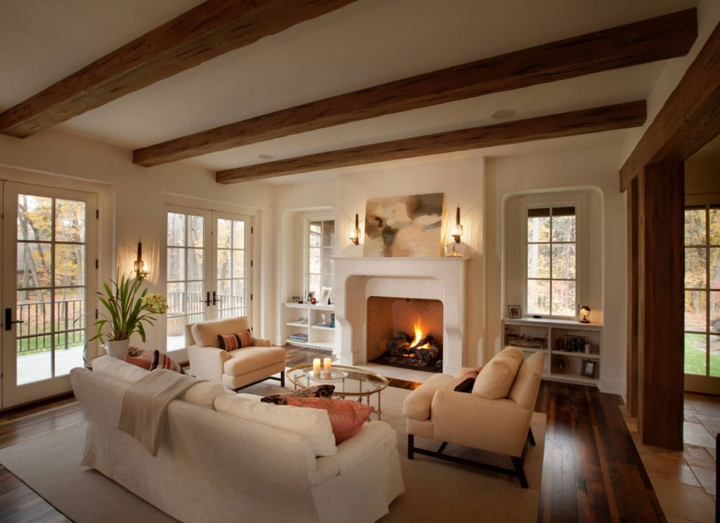 25 Exciting Design Ideas For Faux Wood Beams Home Remodeling