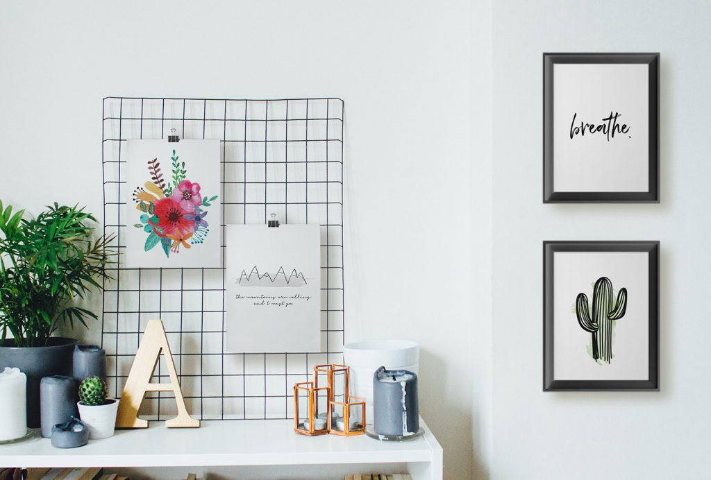 25 Unique Diy Wall Art Ideas With Printables Shutterfly