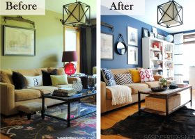 Budget Living Room Makeover