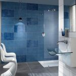 Small Blue Bathroom Tile Ideas