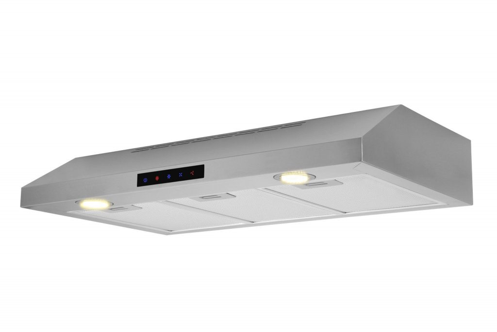 30 Inch Stainless Steel Under Cabinet Range Hood Model Wuc75 Led