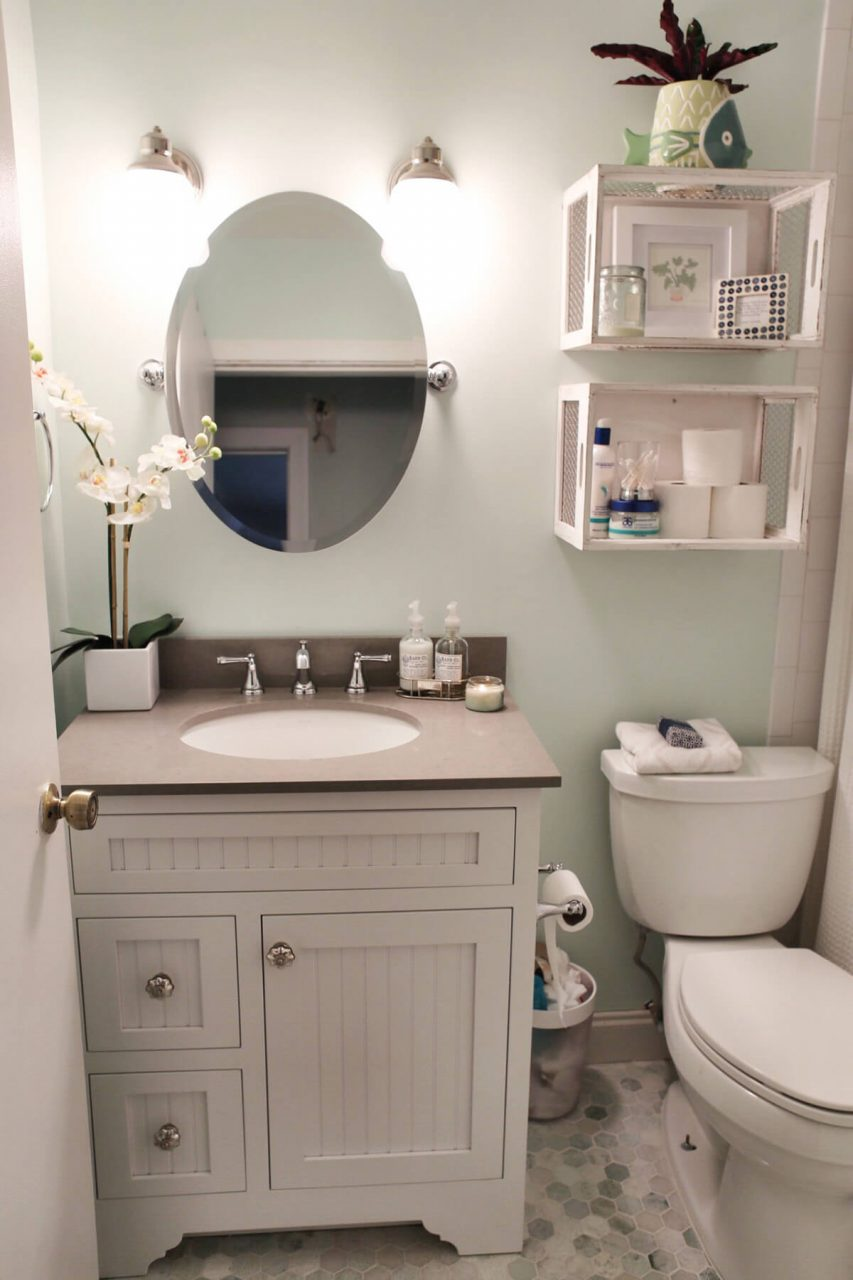 32 Best Over The Toilet Storage Ideas And Designs For 2019