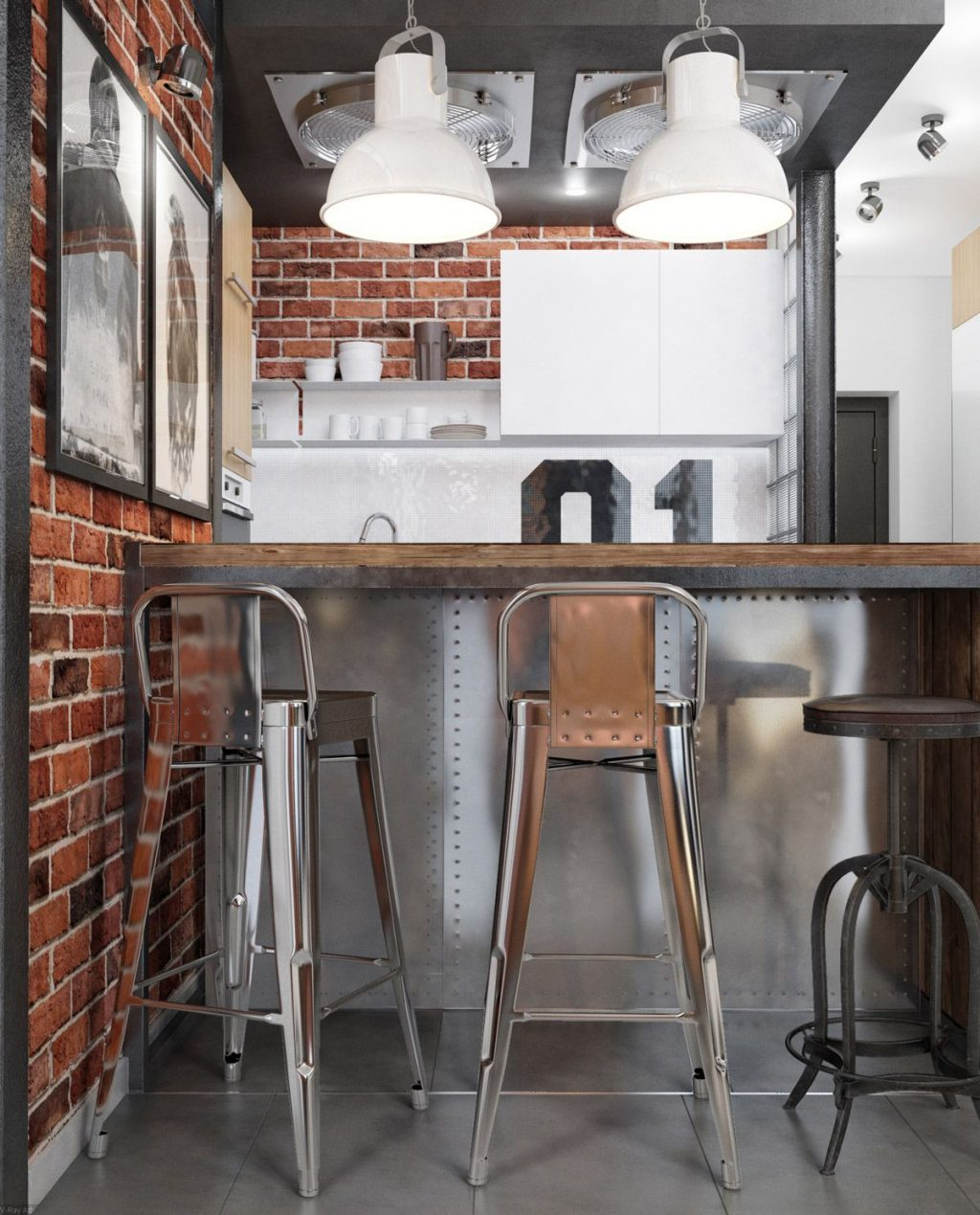 32 Industrial Style Kitchens That Will Make You Fall In Love Home