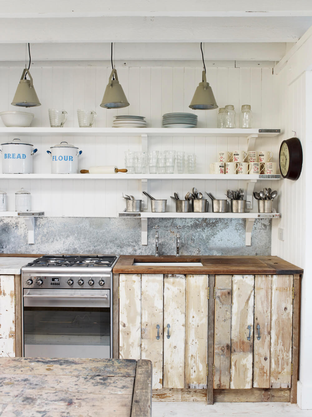 35 Best Farmhouse Kitchen Cabinet Ideas And Designs For 2019 Layjao