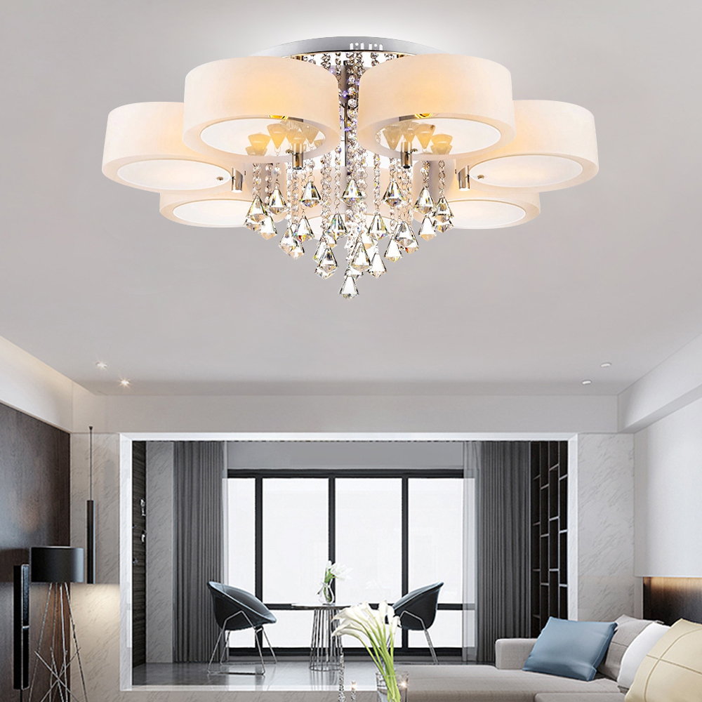 357 Way Modern Crystal Led Ceiling Lights Chandeliers Pendant
