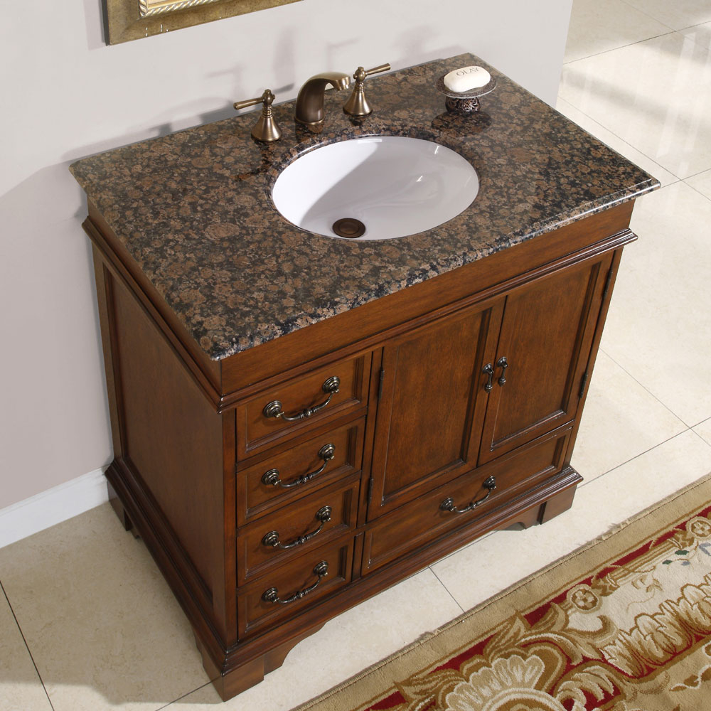 36 Perfecta Pa 135 Bathroom Vanity Single Sink Cabinet English