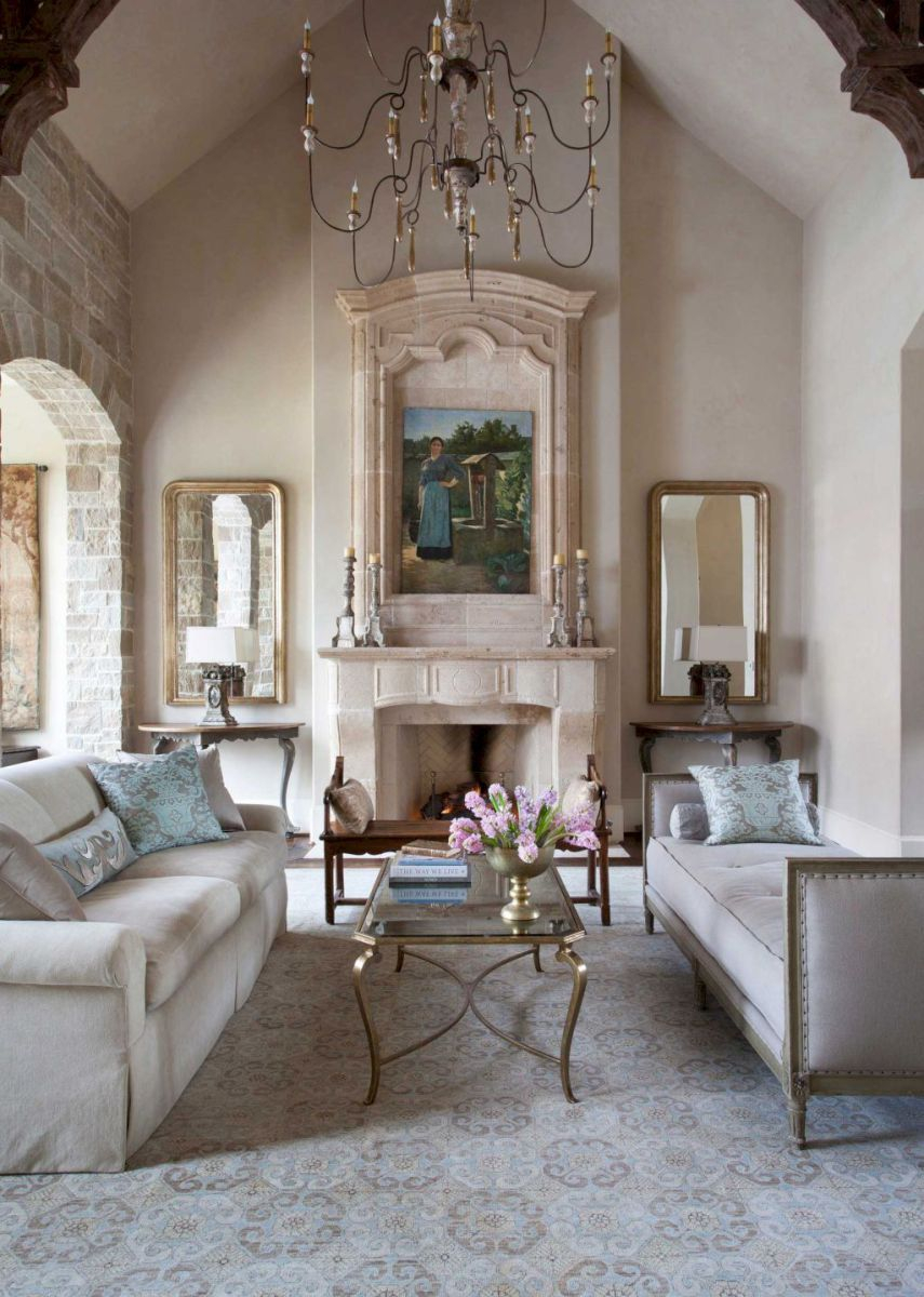 38 Beauty French Country Living Room Decor And Design Ideas Casa