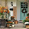 Autumn Front Door Fall Decorating Ideas