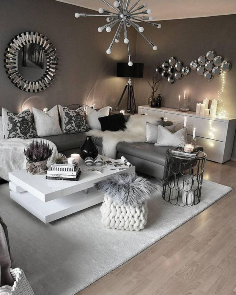 43 Modern Glam Living Room Decorating Ideas Decorating Tips