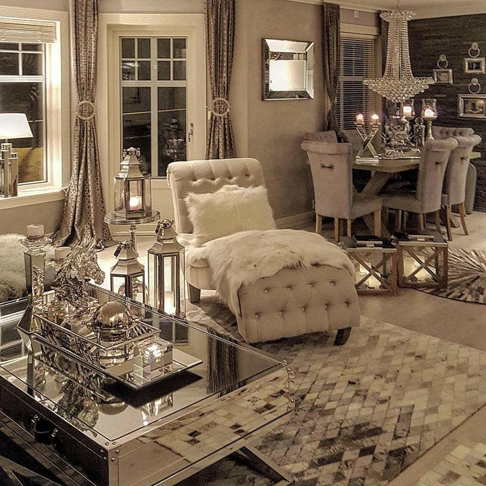 43 Modern Glam Living Room Decorating Ideas Living Rooms Living