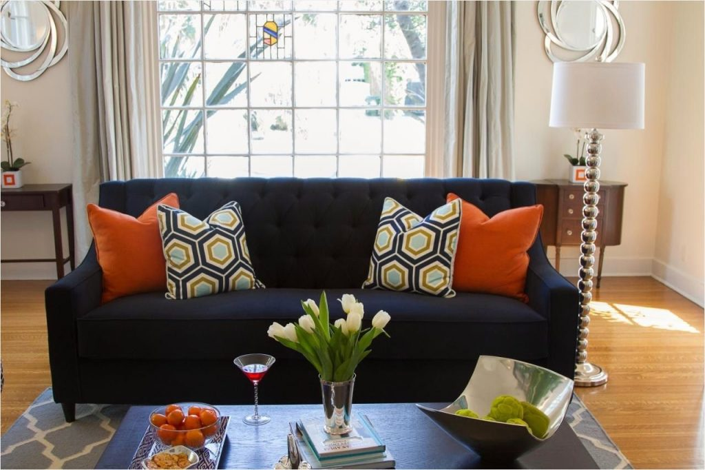 44 Stunning Navy And Orange Living Room Ideas Ideas For Living