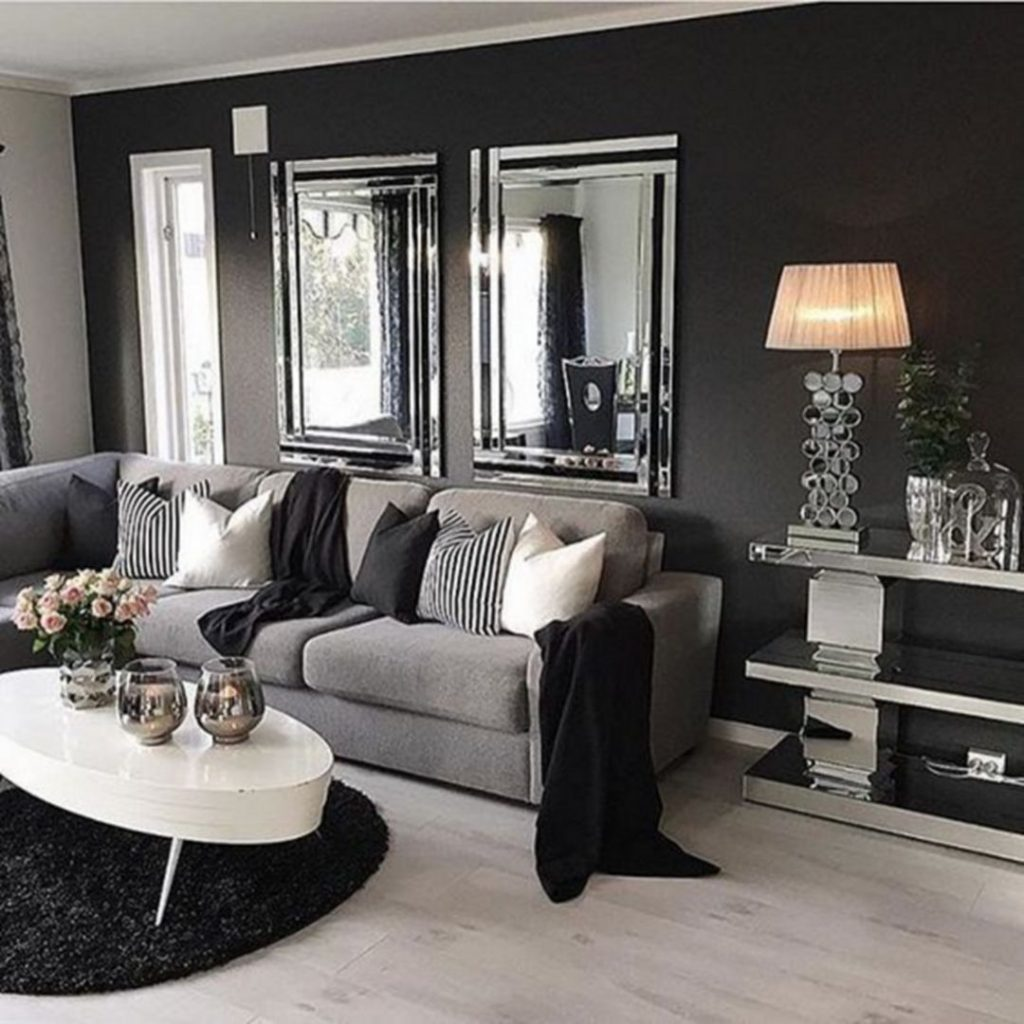 47 Grey And Black Living Room Black And Grey Living Room Ideas For
