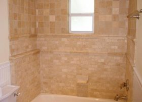 Narrow Bathroom Tile Design Ideas